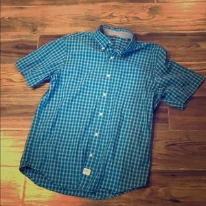 Casual Men's Plaid Buttoned Shirt